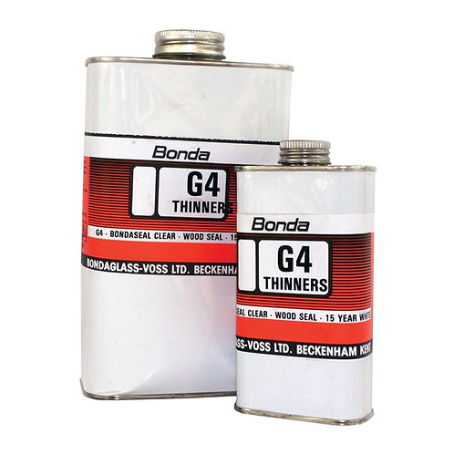 Bonda Marine G4 THINNERS for G4 Primer - Sealer for G.R.P. Wood & Metal