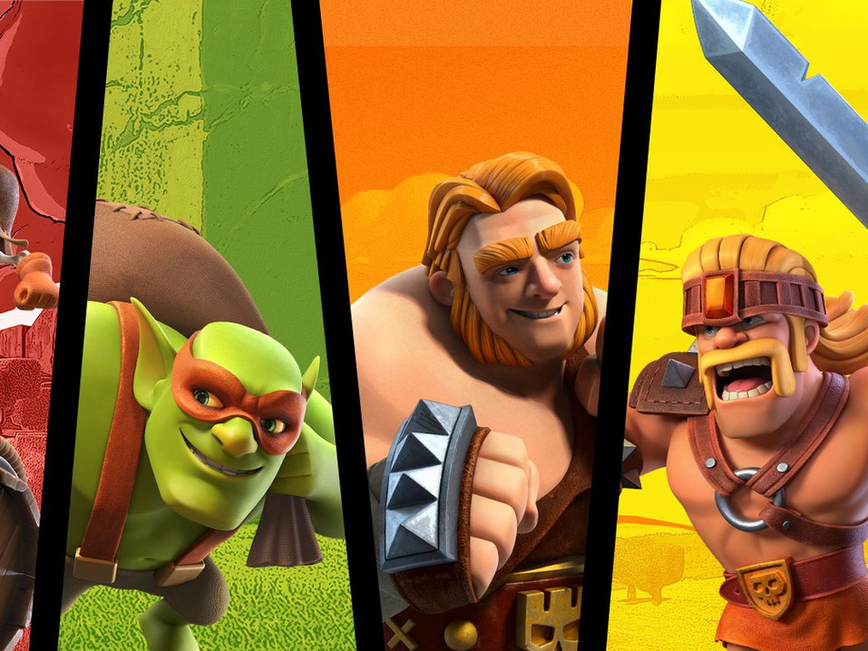Clash of Clans Supertroops