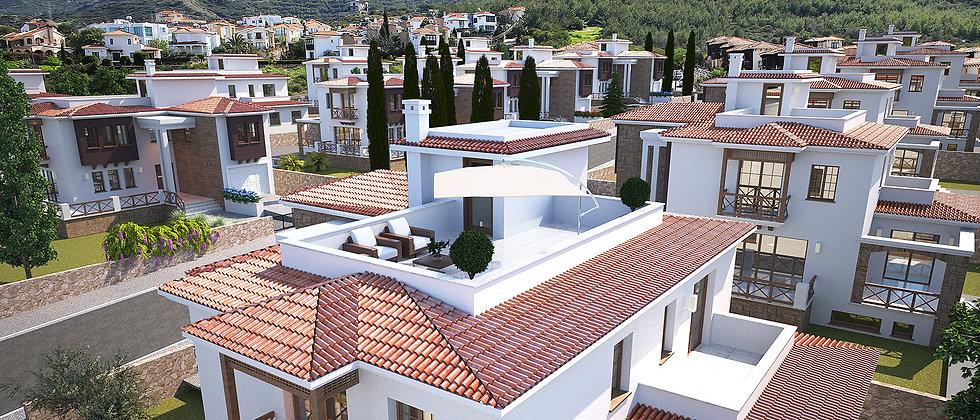 Paradise Villa Kyrenia 3, 4 Bedroom