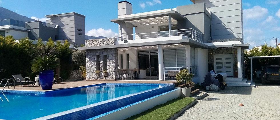 Three Bedroom Villa with big swimming pool in Ozankoy-£380,000