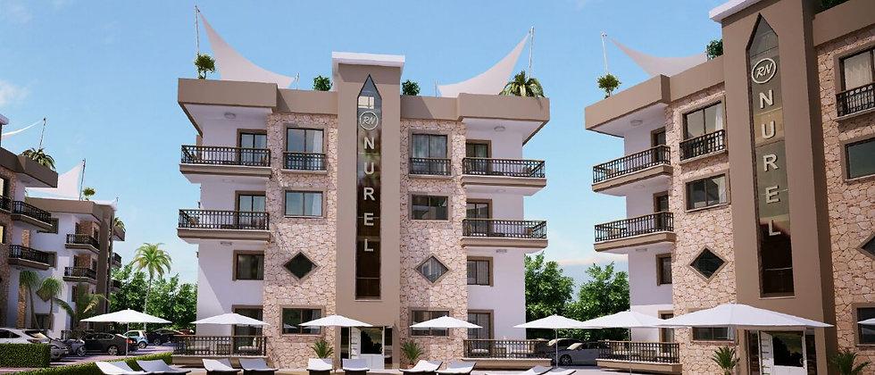 City Complex of apartments in Alsancak, Kyrenia consists of 5 blocks
