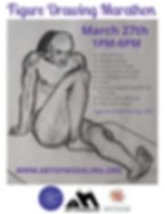 Boulder Arts Week Figure Drawing Maratho