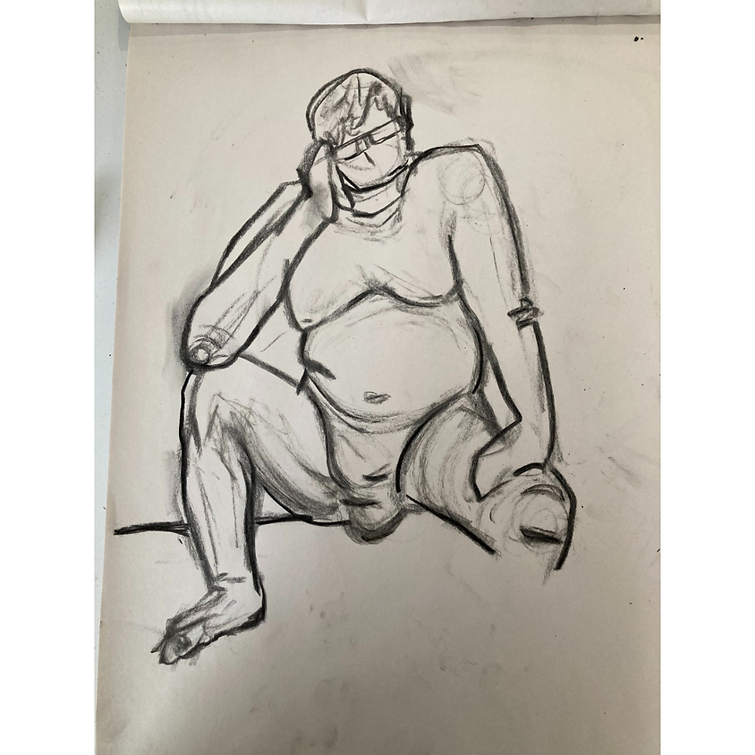 Monday Afternoon Drop In Figure Drawing