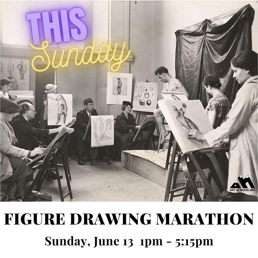 June Figure Drawing Marathon