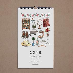 2018 Cozy Life Calendar