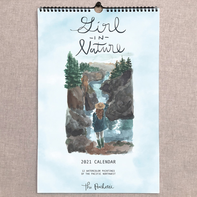 2021 Girl in Nature Calendar