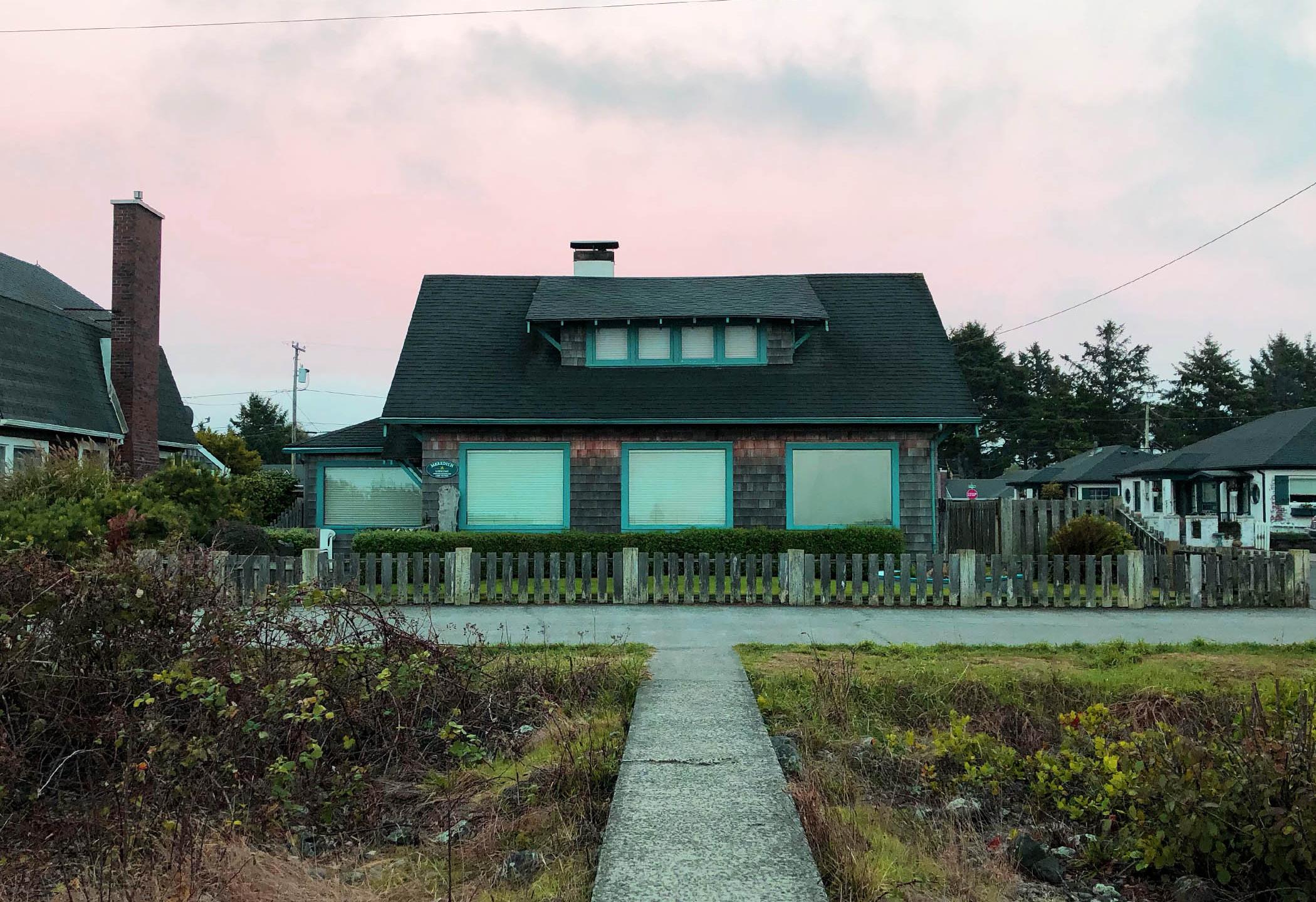 House at Sunrise
