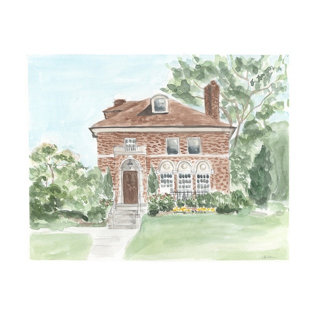 Marie V. House Painting