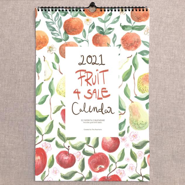 2021 Fruit for Sale Calendar