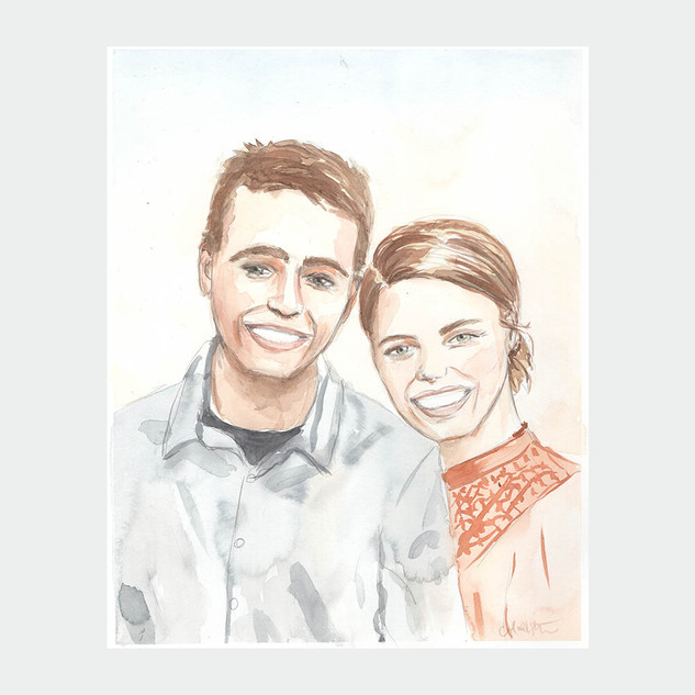 L&L Couple Portrait