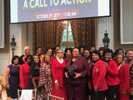 And Award Goes To Delta Sigma Theta Alumnae Chapter