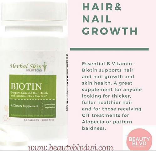 Biotin - Hair & Nail Growth  & Skin Health Supplement
