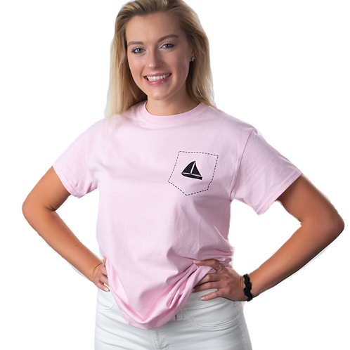 Colored Tee: Pink