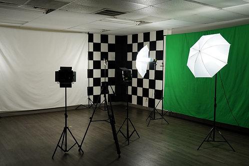 Studio Rental With Gear