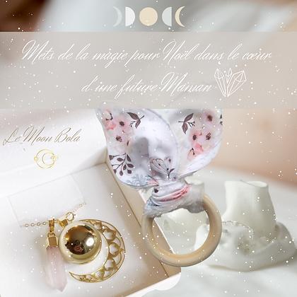 Coffret spécial Noël : Moon Bola (Bola + Grande Lune Hors options) & Hochet