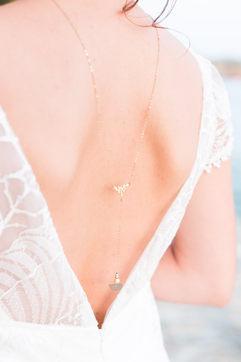 Bijoux mariée - Bijou de dos mariée