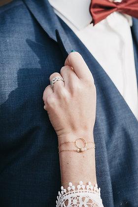 """Bracelet """" Cercle d'amour"""""""