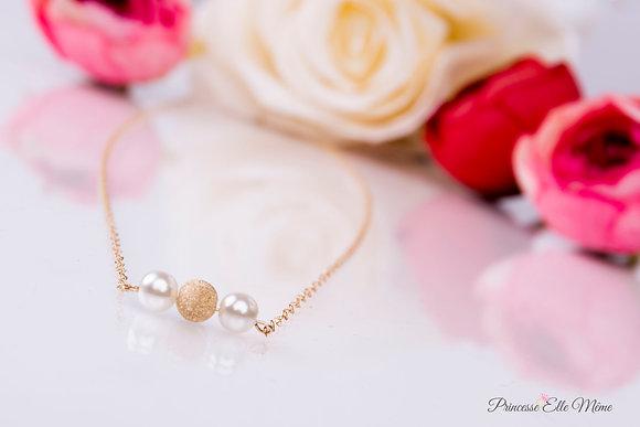 "Bracelet ""Mélissa"" + EN CADEAU 1 POCHON mariée ou témoin"