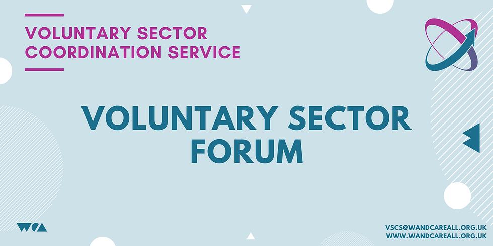 Voluntary Sector Forum - Voluntary Sector Coordination Service