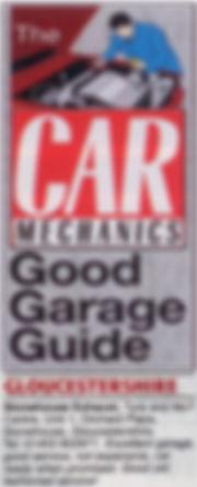 Car Mechanics Review