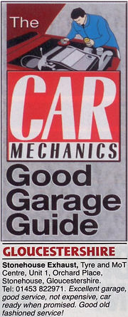 Car Mechanics Review