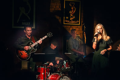 Miss George Alex Yarosh Howard Cairns Steven Caruana Jazz Club Melbourne