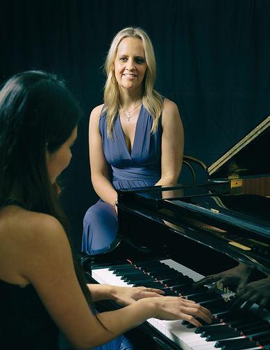 Georgina Docherty & Krishna Chan Melbourne singer & pianist Hawthorn Parish