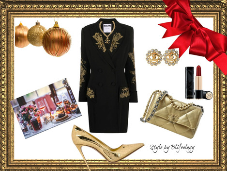 HOW TO DRESS FOR A CHRISTMAS PARTY.Style by Blifeolgy