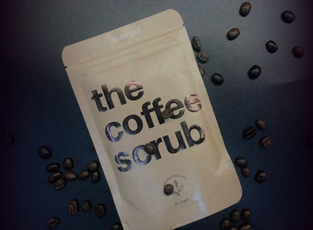 ,,The Coconut  Coffee Scrub'',It's Magical!!!!! and100% Organic