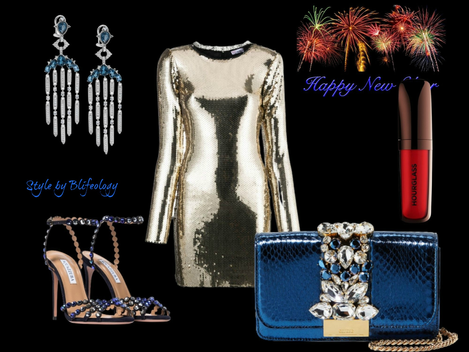 How to dress spectacular for New Year's Party.