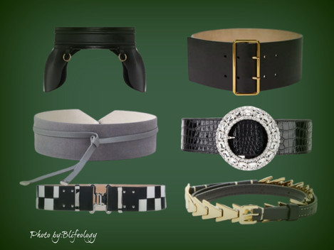 Women belts that will make your outfit pop like no other.