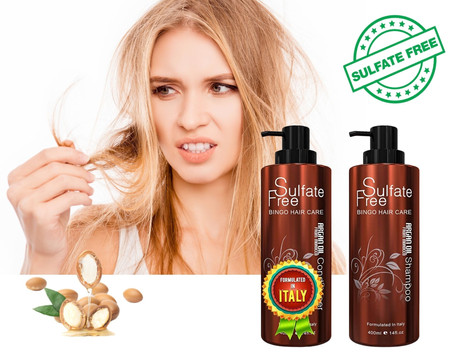 Sulfate-Free Shampoo keeps your hair and body healthy.