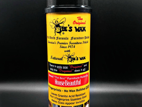 The Original Bee's Wax Polish your granite,stainless steel ,wood and glass surfaces best friend!!!