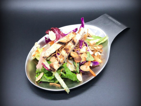 ,, Mandarin and pickled ginger Asian salad''