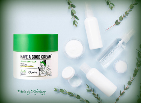 Have a good skin with a  good cream.