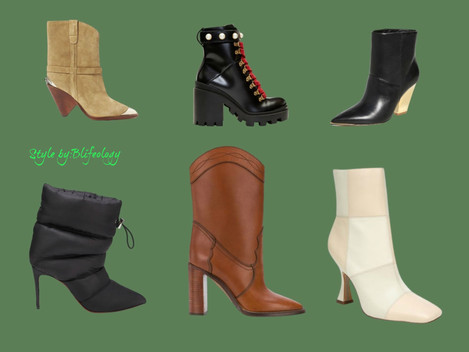 WHAT STYLE OF  BOOTS AND BOOTIES   ARE TRENDINGS  FOR FALL-WINTER 2020?