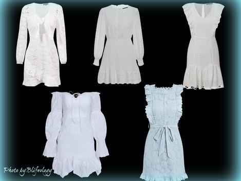 White Summer Dresses under 40$-Low budget Fashionista