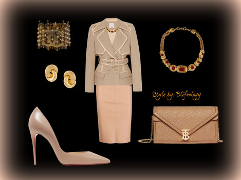 Nude Hues  Outfits   Elegant and Authentic.