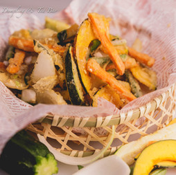 Crispy Spicy Tempura Veggies