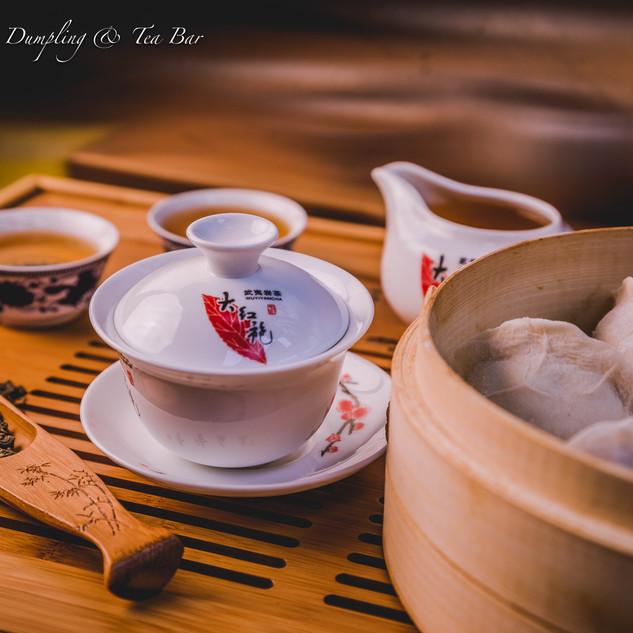 Gongfu Tea Set with Dumplings
