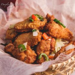 Crispy Spicy Chiken wings