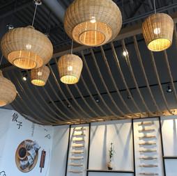 Green Bites Interior Ceiling