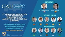CAU 2020 - 7º Programa Educativo para Residentes Confederación Americana de Urología (CAUREP)