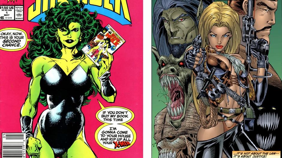 Undermining Fantasy in Wynonna Earp and The Sensational She-Hulk