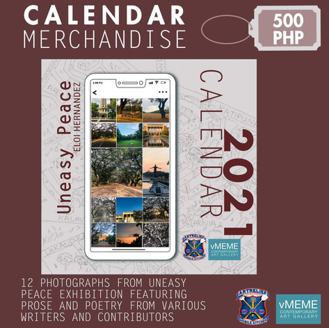Uneasy Peace Calendar