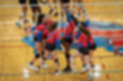 Sporting South Photography Volleyball Team celebrating action image