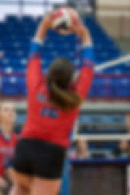 Sporting South Photography Volleybal Player Setter Setting Ball Jumpset action image