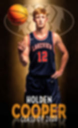 Sporting South Photography Basketball Player 5x3 banner