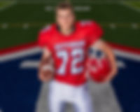 Sporting South Photography Football Player Styled Portrait
