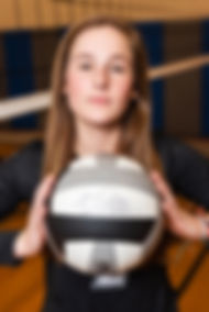 Sporting South Photography VolleyballPlayer Portrait